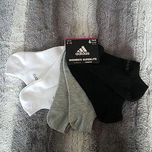 Women's adidas no show socks